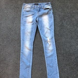 Rampage light wash jeans